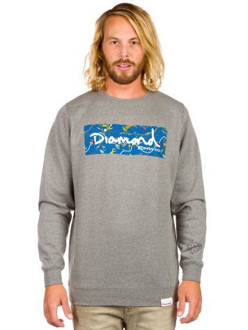 Diamond Lowlife Box Logo Crew Neck Sweater