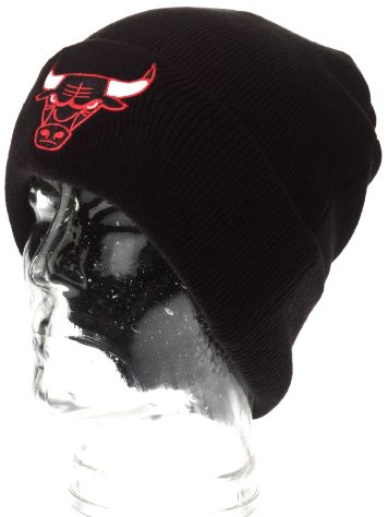 Mitchell & Ness Team Talk Cuff Knit Chicago Bulls Beanie