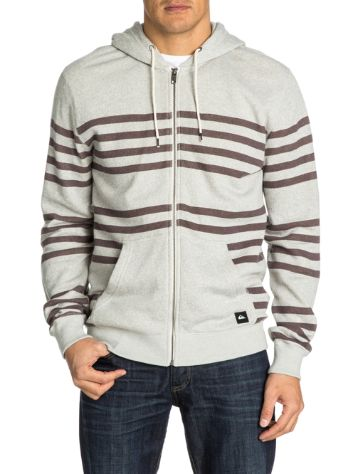 Quiksilver Major Stripes Zip Hoodie