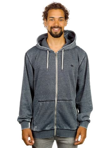 Quiksilver Major Burn Out Zip Hoodie