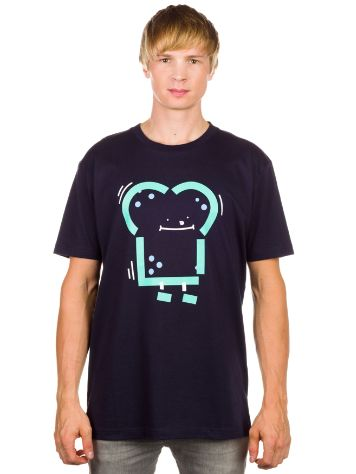 Cleptomanicx Abstract Toast T-Shirt