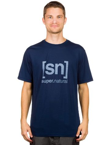 super.natural Base Logo 140 Tech Tee