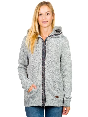 Roxy Winter Heart Zip Hoodie