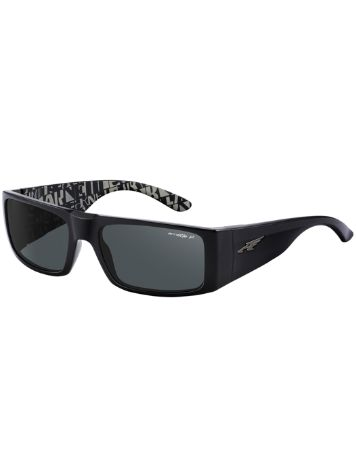 Arnette Lubbock Gloss Black With Grey Distressed