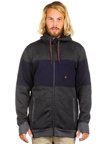 Quiksilver Into The Wild Fleece Zip Hoodie