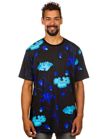 akomplice Bright Poppy All Over T-Shirt