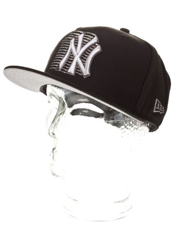New Era NY Yankees Striped Front Cap