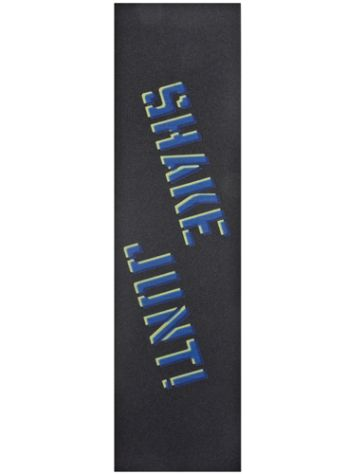 Shake Junt Sprayed Blue Yellow Griptape