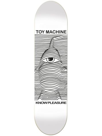 Toy Machine Toy Division White 8.125