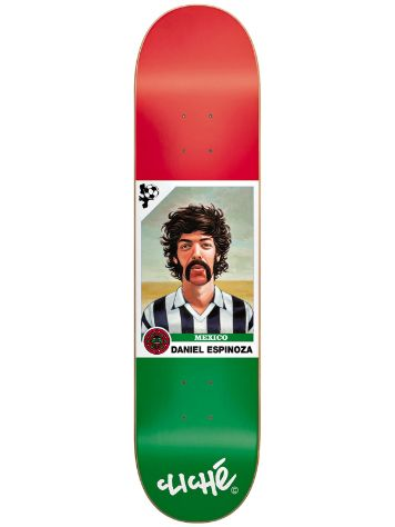"Cliche Espinoza World Cup R7 7.9"" x 31.4"" Deck"