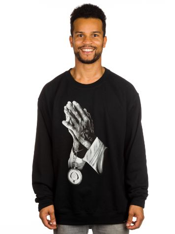 Rook Praying Hands Crewneck Sweater