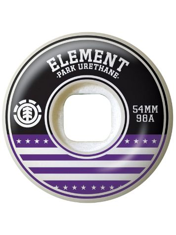 Element Varsity Purple 54mm Wheels