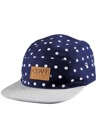 Colour Wear Five Panel Cap