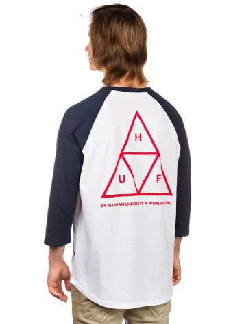 HUF Triple Triangle Raglan T-Shirt LS