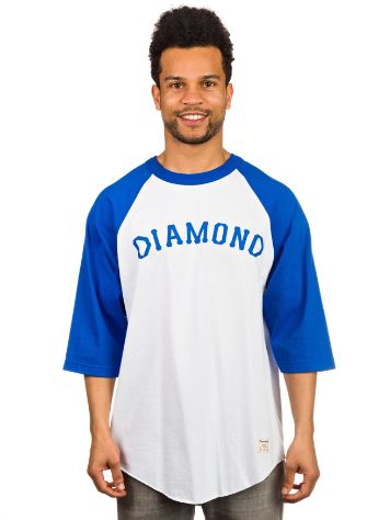 Diamond Dug Out Raglan T-Shirt LS