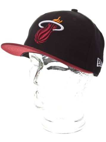New Era Jersey Pop Miami Heat Cap