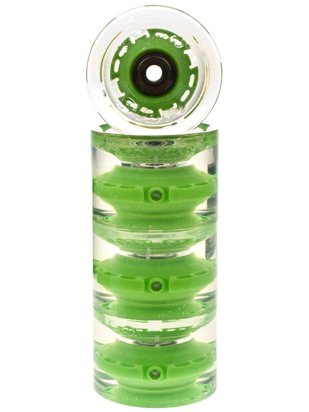 Led Beleuchtung Longboard : Sunset Skateboards Green 65mm 78a Cruiser Wheels online kaufen bei
