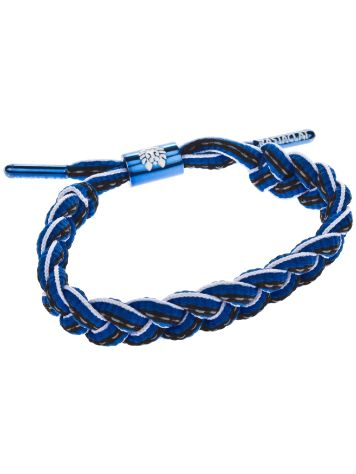 Rastaclat Shoelace Blue/White Bracelet