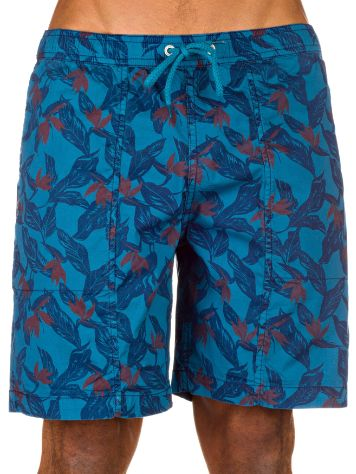 Lightning Bolt New Turtle Stretch Floral Boardshorts