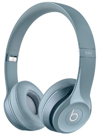 Beats Solo 2 Silver Headphones