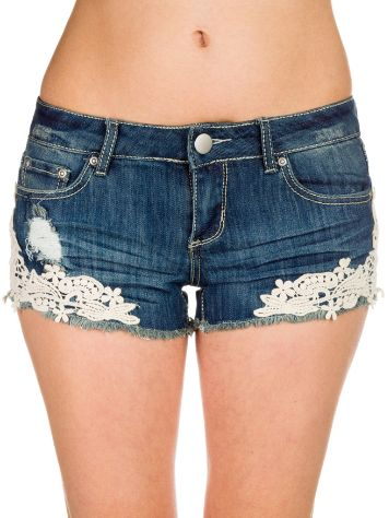 Empyre Girls Demi Chrochet Shorts