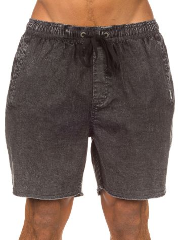 Afends Elastic Denim Shorts