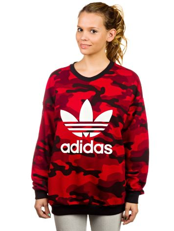 adidas Originals Red Clash Sweater