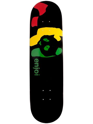 "Enjoi Rasta Panda Wide 8.0"" Deck"