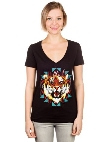 Empyre Girls Textile Tiger T-Shirt