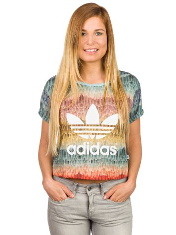 adidas Originals Menire Cropped Logo T-Shirt