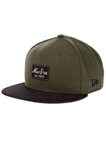 New Era Heather Patched Cap