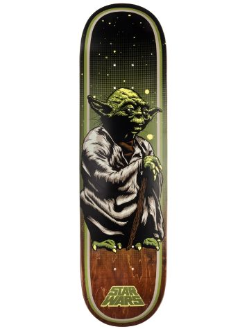 "Santa Cruz Star Wars Yoda 8.0"" Deck"