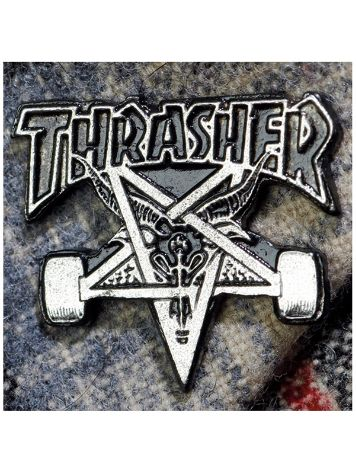Thrasher Skategoat Label Pin