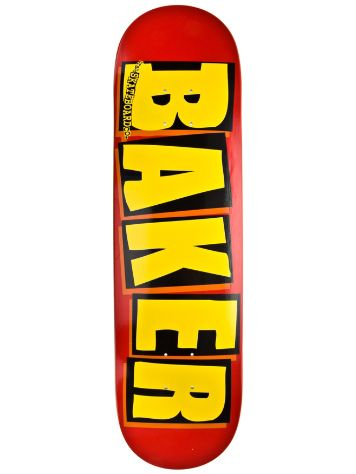 "Baker Brand Logo Red/Yellow 8.125"" Deck"