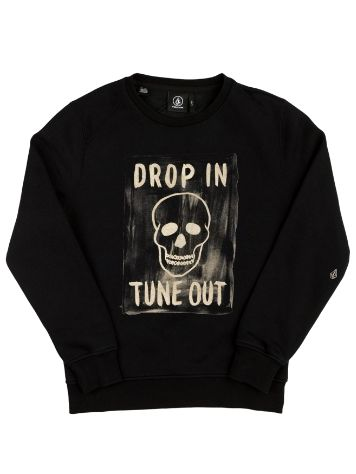 Volcom Tune Out Crew Sweater Niños
