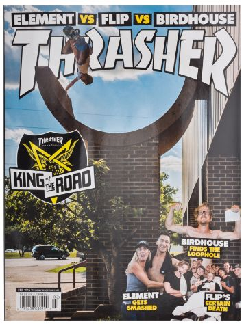 Thrasher Trasher Issue 2015 Februar