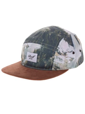 REELL 5-Panel Allover Nature Cap