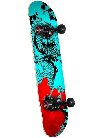 "Powell Golden Dragon Samurai Dragon 7.75"" Skateboard Complete"