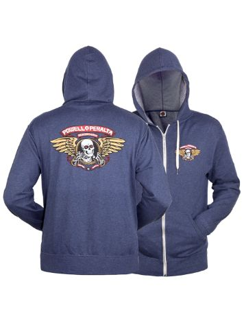 Powell Peralta Winged Ripper Zip Hoodie