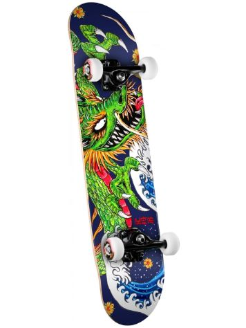 "Powell Golden Dragon Cab Ink Dragon 7.625"" Skateboard Complet"