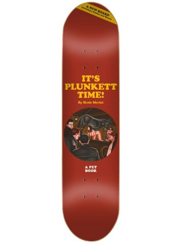 "Skate Mental Plunkett Donkey Time 8.25"" Deck"
