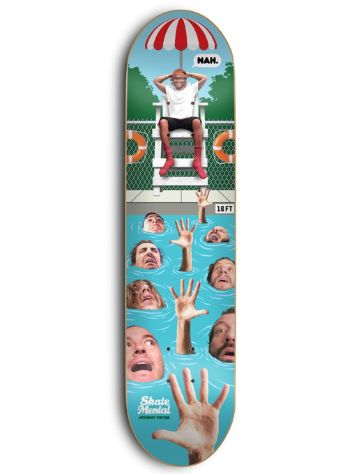 "Skate Mental Johnny Pryor 8"" Deck"