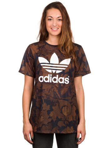 adidas Originals Leaf Camo Bf T-Shirt