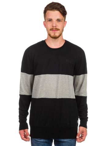 Thrills Block Panel Crew Sweater