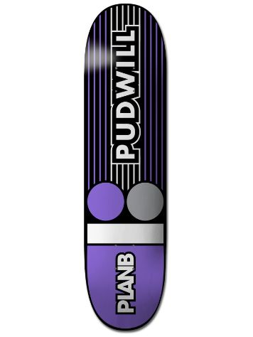 "Plan B Pudwill Lines 8.25"" Deck"