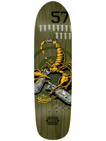 "Real Wrecking Crew Stinger 3 8.8"" x 32.5"" Deck"