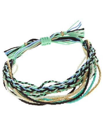 mint Strand Mixed Bracelet