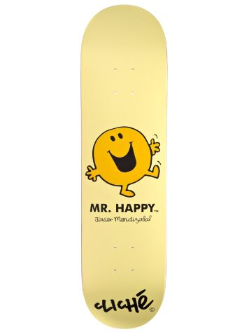 "Cliche Mendizabal Mr. Men R7 8.125"" Deck"