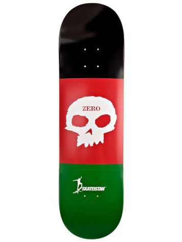 "Zero Skateistan Single Skull R7 8.375"" Deck"
