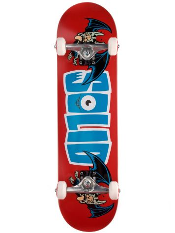"Solid Skateboards Bat Logo 8.0"" Complete"